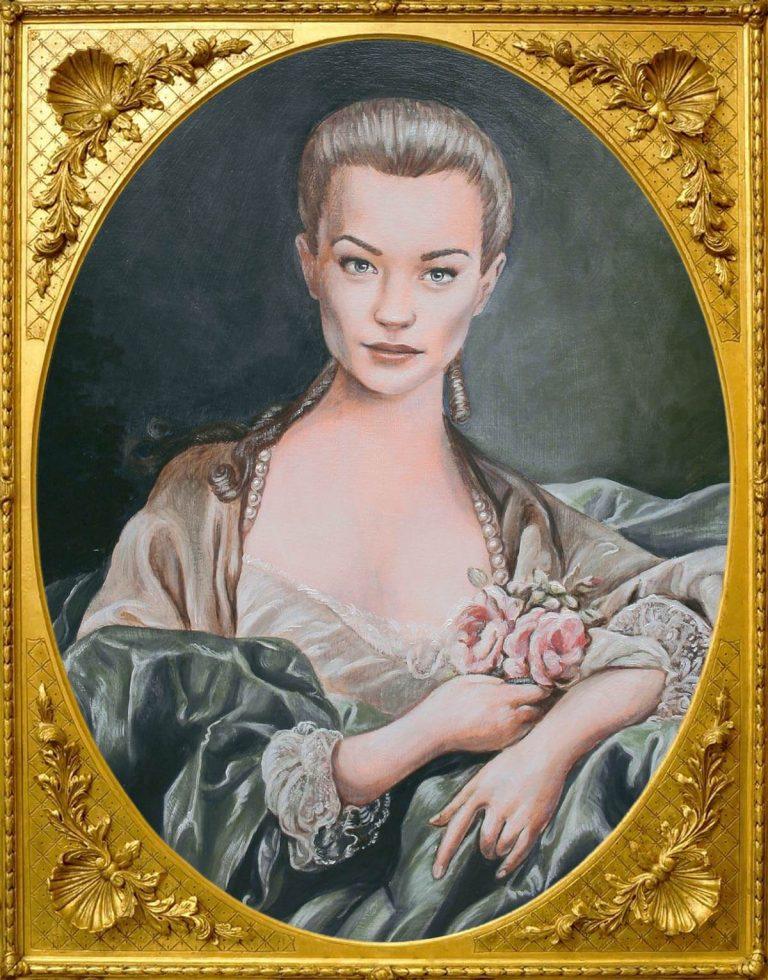 Madame de Pompadour portrait for Doctor Who