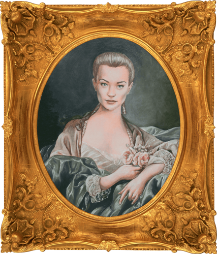 Madame de Pompadour Portrait | Sophia Myles in The Girl in the Fireplace as seen on Doctor Who