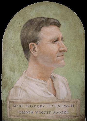 Greco-Roman Fayum portrait