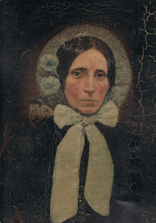 Portrait of a Victorian woman