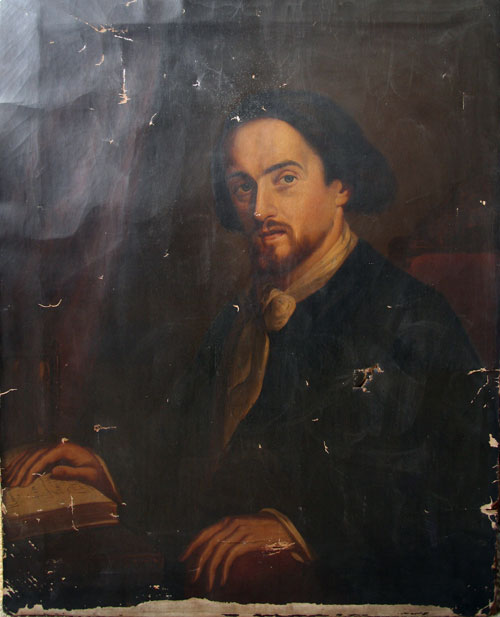 Victorian Philosopher painting