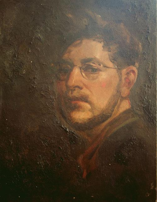 Self portrait of a bohemian man