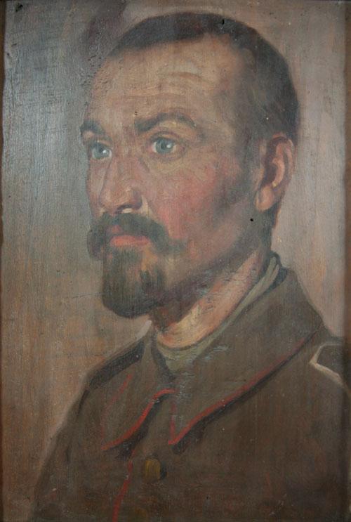 WW1 German army portrait