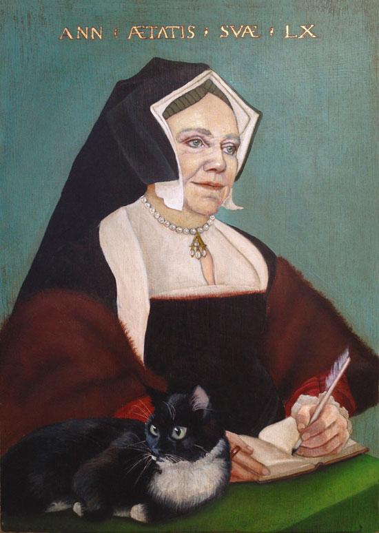 Tudor style painting