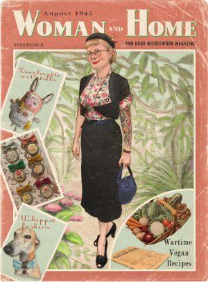 Sam's personalised Vintage Home Magazine
