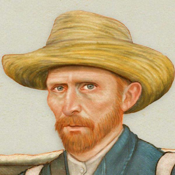Vincent van Gogh - Le Fou Roux